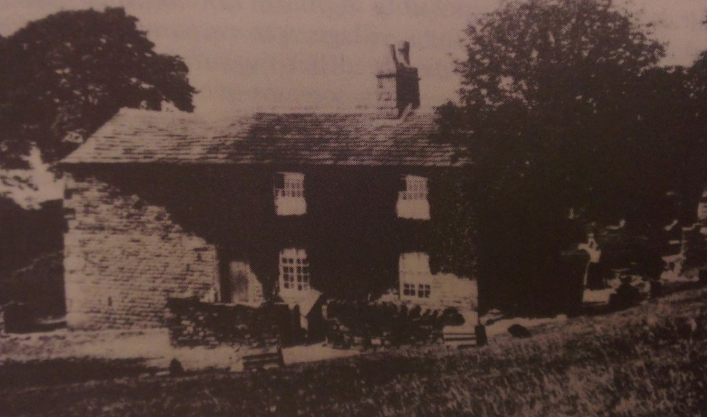 This photo is from an old book by Phoebe Hesketh, and is possibly the only available image of this farmstead when occupied.