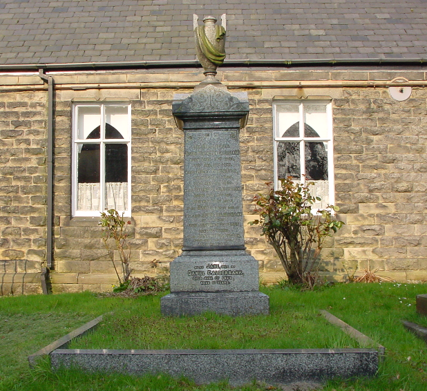 The huge memorial gravestone of the descendants of Old Brook's.