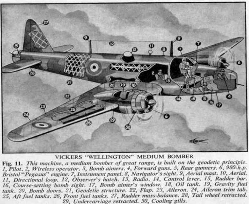 The aircraft carried a full complement of six crew.