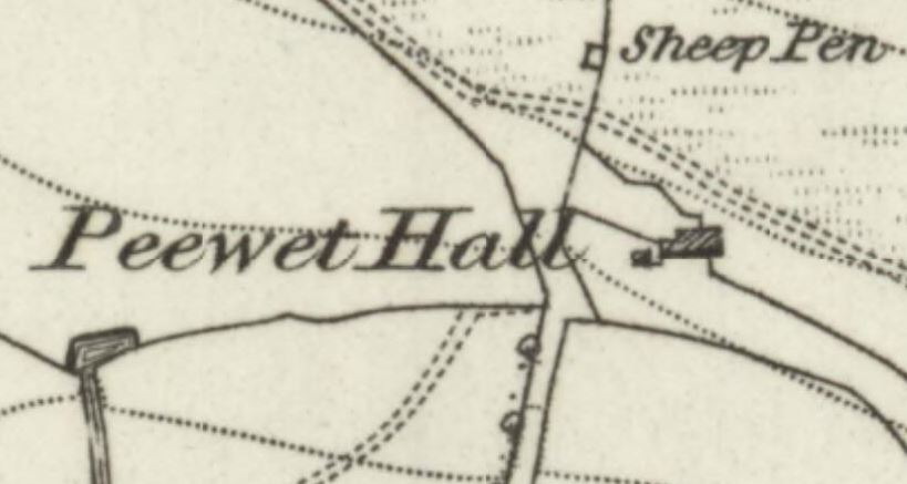 Peewet Hall, named after the Lapwing!