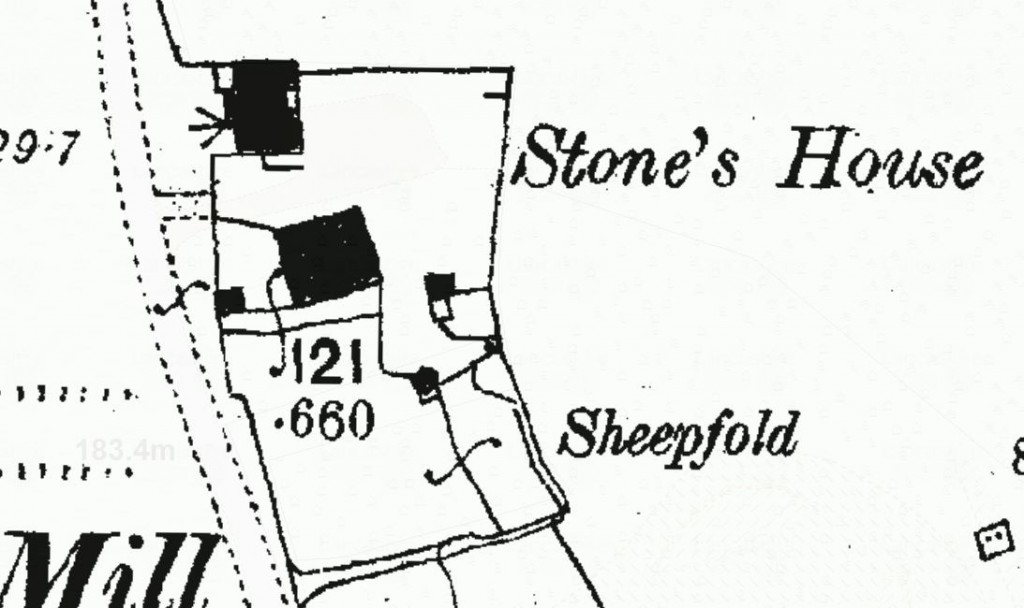 A close-up of the original OS mapping.